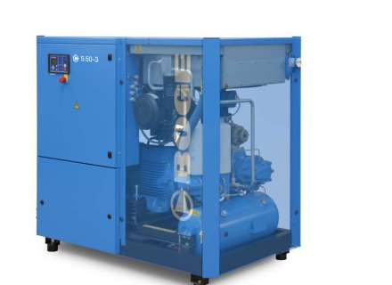 Boge S series screw compressors up to 340 kw